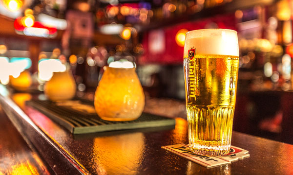 Biertje bij Café Stacey's Eindhoven